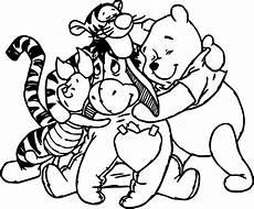 Winnie Pooh Malvorlagen Winnie The Pooh Friends Coloring Page