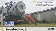 nettoyage de fosse septique vidange et nettoyage de fosse septique sarp centre ouest