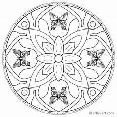 Malvorlage Schmetterling Mandala Schmetterling Mandala 187 Gratis Ausdrucken Ausmalen