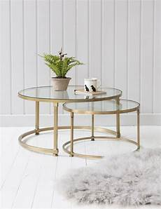 coco nesting glass coffee tables in 2019
