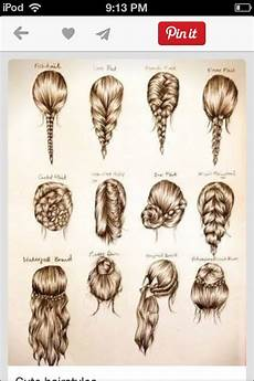 these are some cute easy hairstyles for school or a party hairstyles pinterest my hair