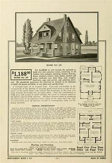 montgomery ward house plans book of homes craftsman house plans craftsman house