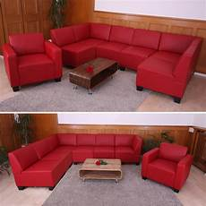 modular sofa system garnitur lyon 6 1 kunstleder