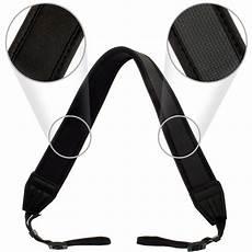 Universal Anti Slip Adjustable Neck Hanging by Optix Pro Black Universal Neoprene Shoulder Neck