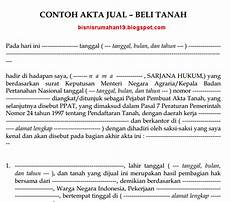 surat perjanjian jual beli tanah newhairstylesformen2014 com