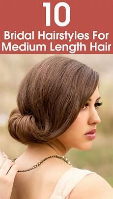 10 bridal hairstyles for medium length hair