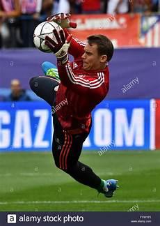 Bayern Neue Spieler - madrid spain 27th apr 2016 goalkeeper manuel neuer of