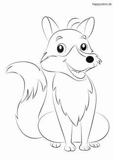 Malvorlagen Tiere Fuchs Ausmalbilder Tiere Fuchse