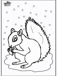 ausmalbilder tiere im winter kostenlos kostenlose