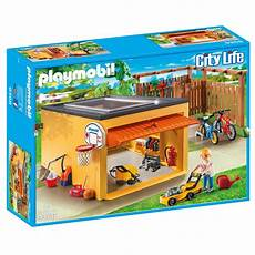 Playmobil 9368 Garage playmobil 9368 garage mit fahrradstellplatz exklusivset