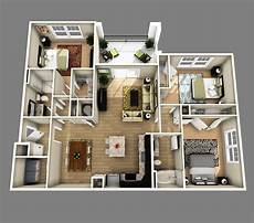 3 ideas for a 2 bedroom home includes floor 3 bedrooms apartments http www designbvild 4350 3