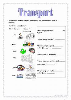 transportation worksheets esl 15184 transport worksheet free esl printable worksheets made by teachers