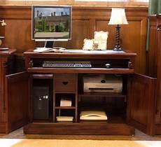 hidden home office furniture computer desk hideaway hidden home office study pc laptop