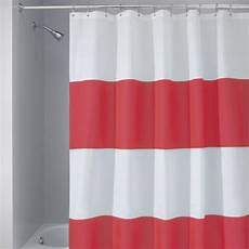 white striped shower curtain and white striped shower curtain furniture ideas