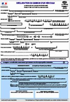 cessation de vehicule en ligne d 233 claration de cession d un v 233 hicule cerfa n 176 13754 02
