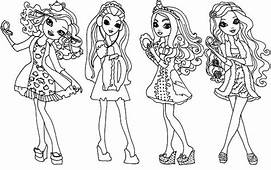 Ever After High Coloring Pages  Download & Print Online