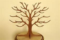 arbre à bijoux en bois arbre 224 bijoux en bois medium 6mm du bout des bois