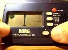 korg metronome ma 30 how to use a korg ma 30 metronome