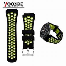 Breathable Silicone Band by Soft Silicone Breathable Sport Band Waterproof 22mm
