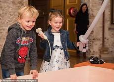 Princess Charlene Of Monaco Shares Snaps Of Jacques And