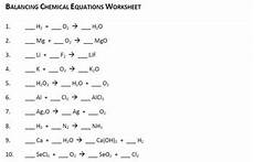 free balancing chemical equation worksheet by ms joelle tpt