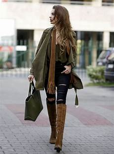 Braune Stiefel Kombinieren - inspirations what to wear with brown boots be