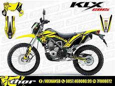 Striping Klx 150 Modifikasi by Jual Decal Motor Striping Rockstar Selimutin Klx Bf