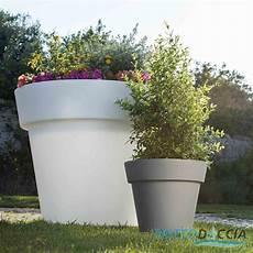 vasi piante plastica vaso resina alto begonia tondo plastica pianta giardino