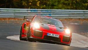 Manthey Racing Tweaked 911 GT2 RS Breaks Nordschleife Road