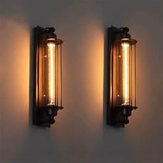 industrial vintage wall light iron retro loft l bedroom corridor aisle warehouse restaurant