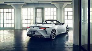 2019 Lexus LC Convertible Concept Wallpapers Specs