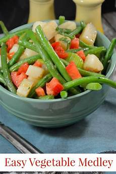mixed vegetables green beans tomatoes potatoes and more
