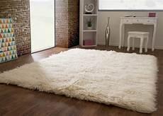 Teppich Schurwolle Creme - flokati teppich 3000 global carpet