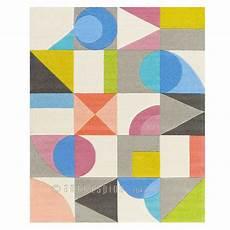 tapis design multicolore formes g 233 om 233 triques par arte espina