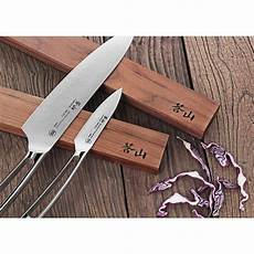 cangshan walnut wood 12 in magnetic knife bar 61727 the