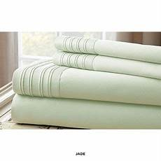 1000 thread count cotton rich sheets with pleated hem design assorted colors at 86 savings