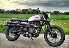 racing caf 232 triumph scrambler 900 by spirit of the seventies