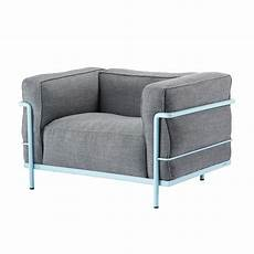 Cassina Le Corbusier Lc3 Fauteuil Cassina Ambientedirect