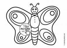 butterfly coloring page nature coloring page for