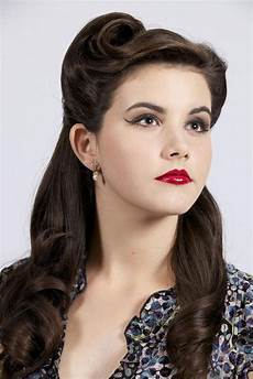 retro hairstyle for long hair 15 best ideas of vintage updos for long hair