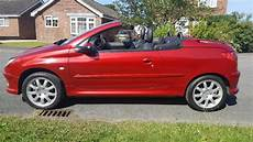 peugeot 206 cabrio peugeot 206 cc s e cabriolet absolutly stunning
