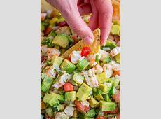 avocado peach salsa_image