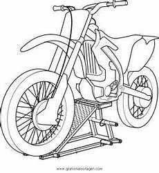 Malvorlagen Tiger Motor Motorcross 6 Gratis Malvorlage In Motorrad