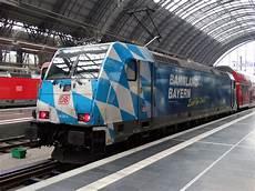 Db Regio Bayern 146 246 4 Mit Bahnland Bayern Werbung