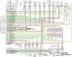 89 mustang radio wiring diagram eec wiring diagram ford truck enthusiasts forums