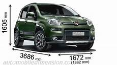 dimension fiat punto dimensions of fiat cars showing length width and height