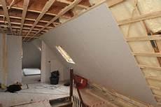 haus dämmen selbst gemacht d 228 mmung der dachschr 228 haus in 2019 dachd 228 mmung