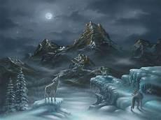 spirit song wolf wall mural photo wallpaper photowall