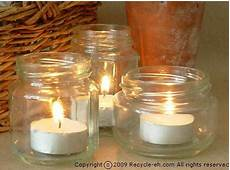 riciclare vasi di vetro ecologia e riciclo creativo recuperare i vasi di vetro