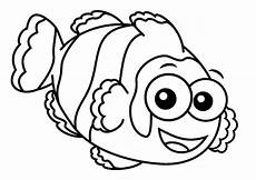 fish blue fish coloring page coloring home